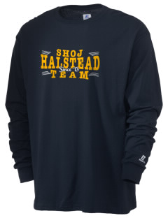 Sacred Heart of Jesus Parish Halstead  Russell Men's Long Sleeve T-Shirt