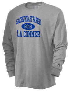 Sacred Heart Parish La Conner  Russell Men's Long Sleeve T-Shirt