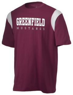 Greenfield Elementary School Mustangs Holloway Men's Rush T-Shirt