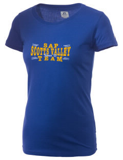 San Agustin Parish Scotts Valley  Russell Women's Campus T-Shirt