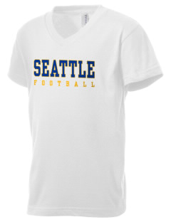 St Catherine Parish Seattle Kid's V-Neck Jersey T-Shirt