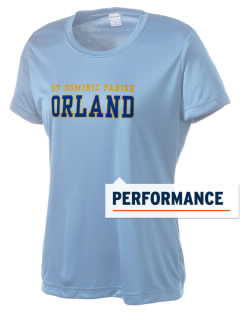 St Dominic Parish Orland Women's Competitor Performance T-Shirt