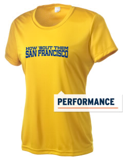 St Emydius Parish San Francisco Women's Competitor Performance T-Shirt