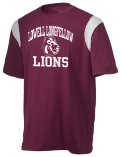 Lowell Longfellow Elementary School Lions Holloway Men's Rush T-Shirt