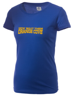 St Isadore The Farmer Parish Orange Cove  Russell Women's Campus T-Shirt