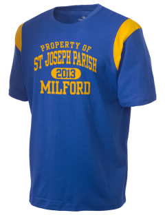 St Joseph Parish Milford Holloway Men's Rush T-Shirt