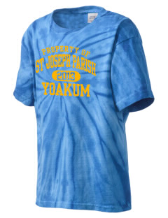 St Joseph Parish Yoakum Kid's Tie-Dye T-Shirt
