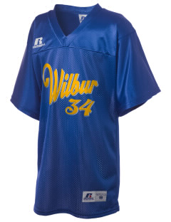 St Joseph Parish (Odessa) Wilbur Russell Kid's Replica Football Jersey