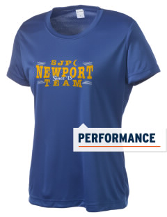 St Jude Parish (Usk) Newport Women's Competitor Performance T-Shirt