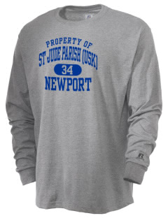 St Jude Parish (Usk) Newport  Russell Men's Long Sleeve T-Shirt