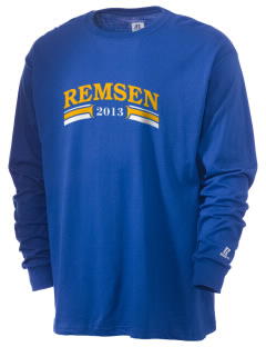 St Mary Parish Remsen  Russell Men's Long Sleeve T-Shirt