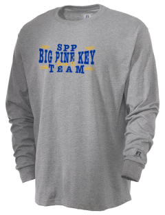 St Peter Parish Big Pine Key  Russell Men's Long Sleeve T-Shirt