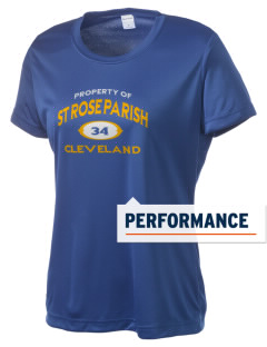 St Rose Parish Cleveland Women's Competitor Performance T-Shirt