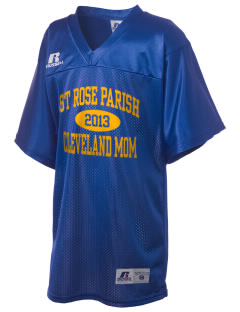 St Rose Parish Cleveland Russell Kid's Replica Football Jersey