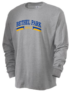 St Valentine Parish Bethel Park  Russell Men's Long Sleeve T-Shirt