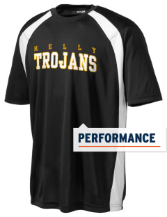 Thomas Kelly High School Trojans Men's Dry Zone Colorblock T-Shirt