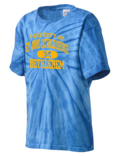 St. Anne Catholic Church Bethlehem Kid's Tie-Dye T-Shirt