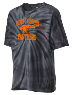 Gardner S Wilmington High Panthers Kid's Tie-Dye T-Shirt