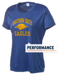 Hawthorn Elementary School South Eagles Women's Competitor Performance T-Shirt
