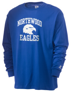 Northwood Elementary School Eagles  Russell Men's Long Sleeve T-Shirt