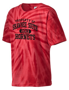 Shawnee Elementary School South Hornets Kid's Tie-Dye T-Shirt