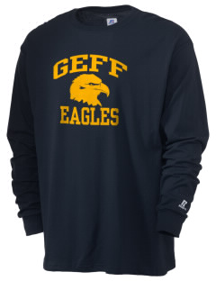 Geff Elementary School Eagles  Russell Men's Long Sleeve T-Shirt