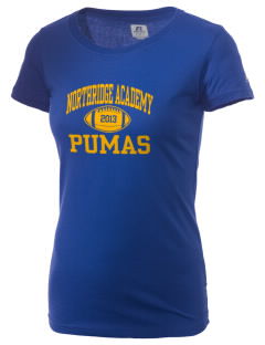 Northridge Academy High School Pumas  Russell Women's Campus T-Shirt