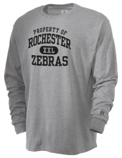 Rochester Community High School Zebras  Russell Men's Long Sleeve T-Shirt