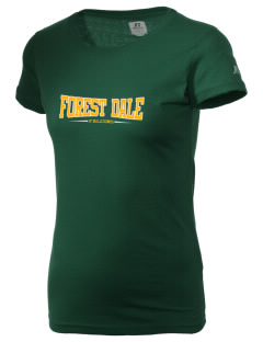 Forest Dale Elementary School Falcons  Russell Women's Campus T-Shirt
