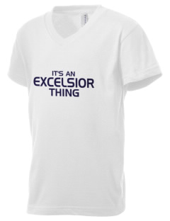 Excelsior High School na Kid's V-Neck Jersey T-Shirt