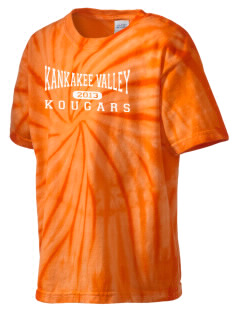 Kankakee Valley High School Kougars Kid's Tie-Dye T-Shirt