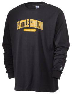 Battle Ground Middle School Tomahawks  Russell Men's Long Sleeve T-Shirt