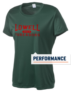 Lowell Elementary School Toreadors Women's Competitor Performance T-Shirt
