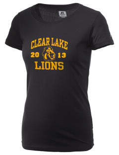 Clear Lake High School Lions  Russell Women's Campus T-Shirt