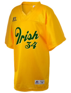 St. Patrick Catholic High School Irish Russell Kid's Replica Football Jersey