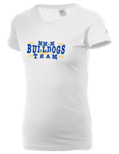 MFL MarMac School - McGregor Center Bulldogs  Russell Women's Campus T-Shirt