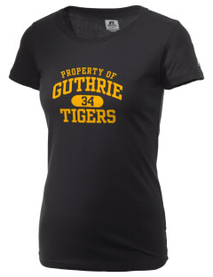 Guthrie Center Junior High School Tigers  Russell Women's Campus T-Shirt