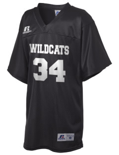 Menlo Elementary School Wildcats Russell Kid's Replica Football Jersey