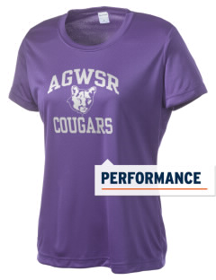 AGWSR High School Cougars Women's Competitor Performance T-Shirt