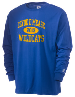 Clyde D Mease Elementary School Wildcats  Russell Men's Long Sleeve T-Shirt