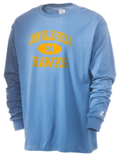 Lynnville-Sully Elementary School Hawks  Russell Men's Long Sleeve T-Shirt