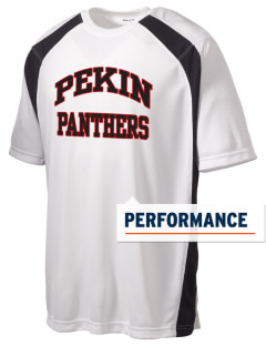 Pekin Community High School Panthers Men's Dry Zone Colorblock T-Shirt