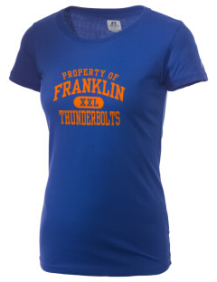 Franklin Middle School Thunderbolts  Russell Women's Campus T-Shirt