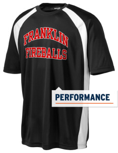 Franklin Elementary School Fireballs Men's Dry Zone Colorblock T-Shirt