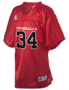Franklin Elementary School Fireballs Russell Kid's Replica Football Jersey