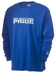 Goodrell Middle School Pioneers  Russell Men's Long Sleeve T-Shirt