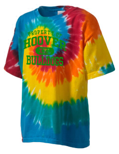 Hoover Elementary School Bulldogs Kid's Tie-Dye T-Shirt