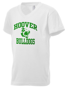 Hoover Elementary School Bulldogs Kid's V-Neck Jersey T-Shirt