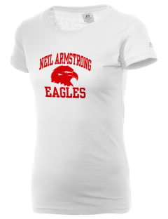 Neil Armstrong Elementary School Eagles  Russell Women's Campus T-Shirt