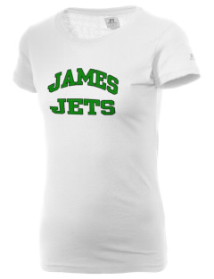 James Elementary School Jets  Russell Women's Campus T-Shirt
